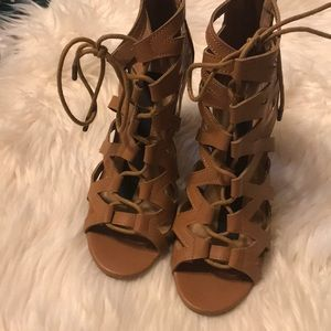 BAMBOO Shoes - Lace Up Bamboo Heels